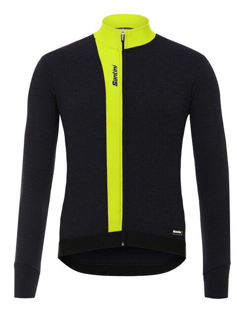 Santini Origine FZ LS Jersey Men flashy yellow